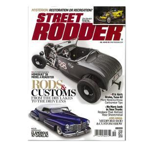 Street Rodder Vol. 48 No.10 October 2019 mooneyes