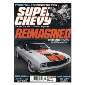Super Chevy September 2018 Vol.48 No. 9 mooneyes