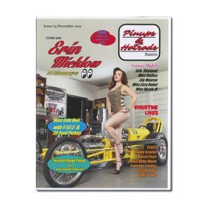 Pinups & Hot Rods Magazine issue 4|mooneyes