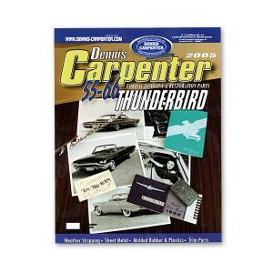 デニス・カーペンター パーツ 2005 カタログ 55-66 FORD THUNDERBIRD|mooneyes