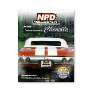 NPD パーツ カタログ 64-85 Chevelle/Maribu 64-87 El Camino|mooneyes