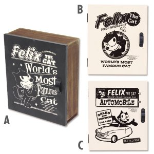 Felix (フィリックス)  ウッド キー ボックス|mooneyes
