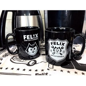 Felix(フィリックス)Un-Cat-Chable 10oz マグ カップ|mooneyes