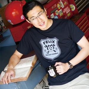 Felix Un-Cat-Chable Tシャツ サイン|mooneyes