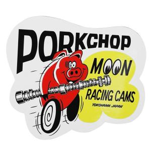 PORKCHOP × MOONEYES Cams ステッカー|mooneyes