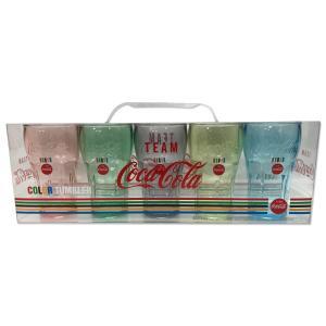 コカ コーラ 5 カラー タンブラー|mooneyes