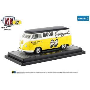 【Walmart限定】M2 1/24 Die Cast Model Volkswagen T-2 Yellow|mooneyes