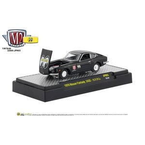 M2 1/64 Die Cast Model '70 Nissan Fairlady Z432 Black|mooneyes