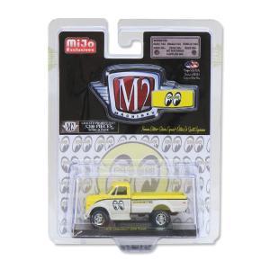 【MiJo Exclusives 限定】M2 1/64 Die Cast Model Chevy C60 Pickup|mooneyes