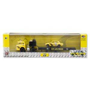 【Walmart限定】M2 1/64 Die Cast Model Hauler with Datsun510|mooneyes