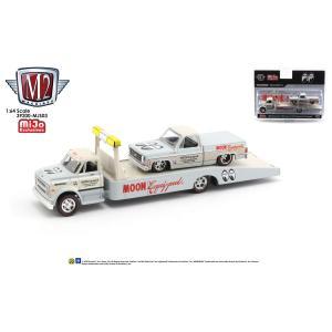 ムーンアイズ ミニカー M2 マシーンズ 1/64 ダイキャストモデル '68 シェビー C60 & '78 シェビー トラック|mooneyes