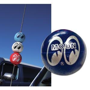 MOONEYES (ムーンアイズ) アンテナ ボール ネイビー|mooneyes