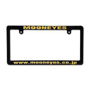 MOONEYES (ムーンアイズ) ブラック ライセンス フレーム mooneyes