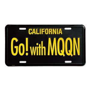 MOONEYES (ムーンアイズ) カリフォルニア ライセンス プレート Go with MQQN|mooneyes