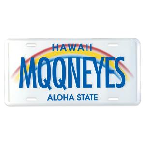 MOONEYES (ムーンアイズ) ハワイ ライセンス プレート|mooneyes