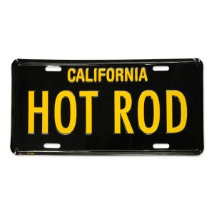 MOONEYES (ムーンアイズ) カリフォルニア ライセンス プレート HOT ROD|mooneyes