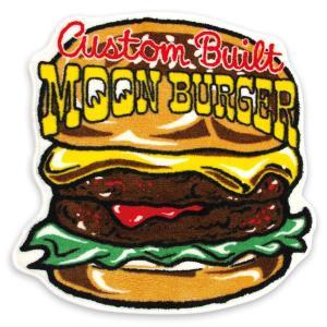 MOON Cafe ムーン バーガー フロア マット|mooneyes