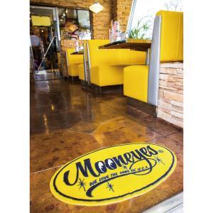 MOONEYES (ムーンアイズ) Floor Mats Yellow Oval|mooneyes