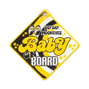 MOONEYES BABY ON BOARD サイン|mooneyes