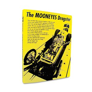 MOONEYES DRAGSTER バインダー|mooneyes