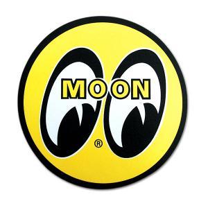 ラウンド マウス パッド イエロー|mooneyes