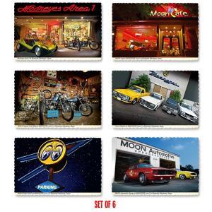 MOON ポストカード 6枚セット|mooneyes