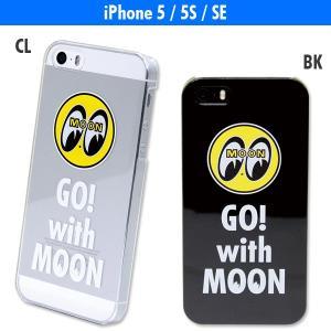Go with MOON iPhoneSE・5/5s ハードケース mooneyes
