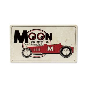 MOON Roadster Metal Sign ムーン ロードスター メタル サイン  ユーズド風...