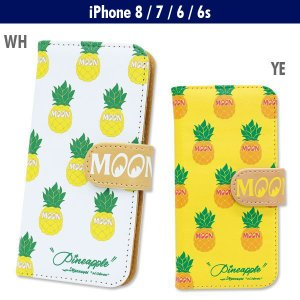 Pineapple iPhone7 & iPhone6/6s フリップ ケース|mooneyes