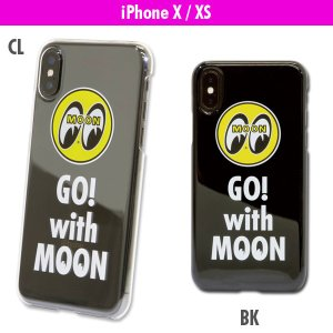 Go with MOON iPhone X ハードケース|mooneyes