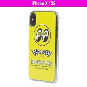 Checker Flag iPhone X ハードケース|mooneyes