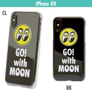 Go with MOON iPhone XR ハードケース|mooneyes