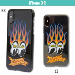 Flamin' MOON iPhone XR ハードケース|mooneyes
