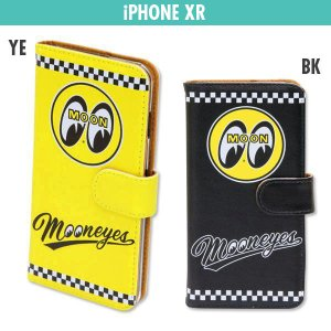 MOONEYES iPhone XR フリップ ケース|mooneyes