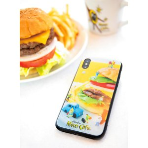 MOON Cafe iPhone X, XS バンパー ケース|mooneyes