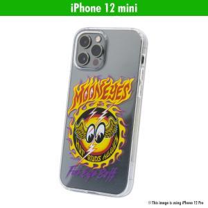 ムーンアイズ ファイアー アイボール iPhone 12 mini ハード ケース|mooneyes