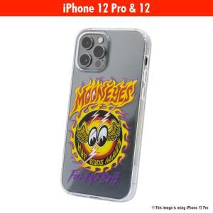 ムーンアイズ MOON ファイアー アイボール iPhone 12, 12 Pro ハード ケース|mooneyes