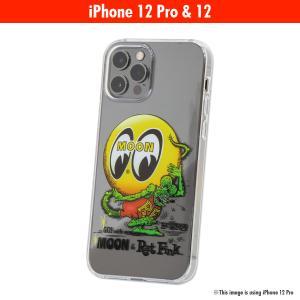 ムーンアイズ MOON x Rat Fink (ラットフィンク) iPhone 12, 12 Pro ハード ケース|mooneyes