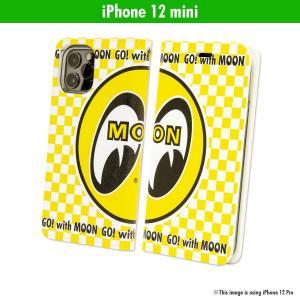 ムーンアイズ MOON Eyeball iPhone 12 mini フリップケース|mooneyes