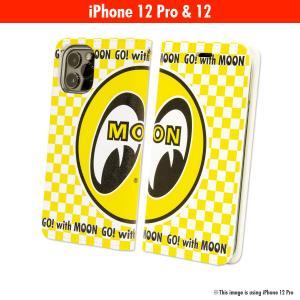 ムーンアイズ MOON Eyeball iPhone 12, 12 Pro フリップケース|mooneyes