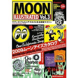 MOON ILLUSTRATED Magazine Vol.3|mooneyes