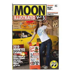 MOON ILLUSTRATED Magazine Vol.5|mooneyes