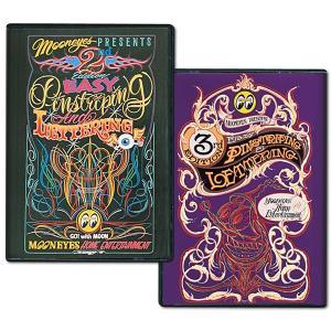 ピンストライピング ハウトゥー DVD|mooneyes