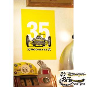 ムーンアイズ MOONEYES 35th Anniv. ポスター|mooneyes