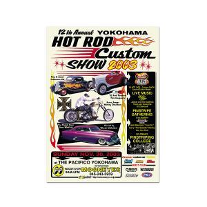 12th YOKOHAMA HOT ROD・Custom Show 2003 ポスター|mooneyes