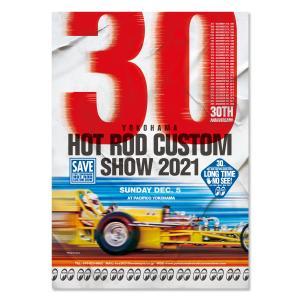 ムーンアイズ  30th Anniversary YOKOHAMA HOT ROD CUSTOM SHOW 2021 ポスター|mooneyes