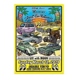 33rd MOONEYES Street Car Nationals(R) 2019 ポスター|mooneyes