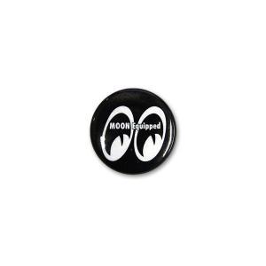 MOON Equipped (ムーン イクイップド)   カンバッジ ブラック|mooneyes