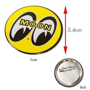 MOON カン バッジ (54mm) mooneyes
