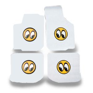 MOONEYES (ムーンアイズ) カスタム フィット フロアーマット ニュービートル(ホワイト) mooneyes